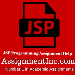 JSP Programming Assignment Help