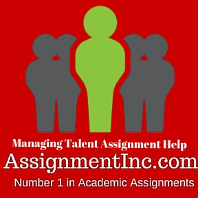 Managing Talent Assignment Help