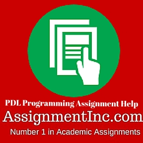PDL Programming Assignment Help
