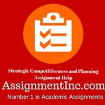 Strategic Competitiveness and Planning
