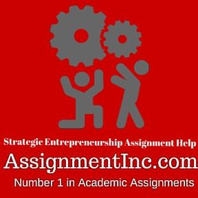 Strategic Entrepreneurship Assignment Help