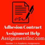 Adhesion Contract