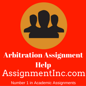 Arbitration Assignment Help