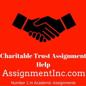 Charitable Trust Assignment Help