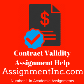 Contract Validity Assignment Help