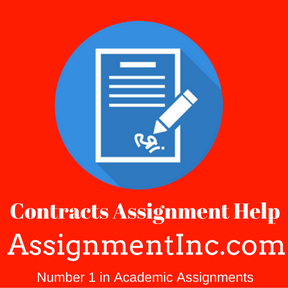 Contracts Assignment Help