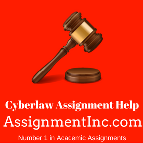 Cyberlaw Assignment Help