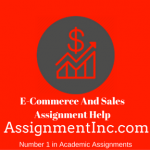 E-Commerce And Sales