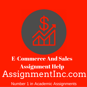 E-Commerce And Sales Assignment Help