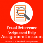 Fraud Deterrence