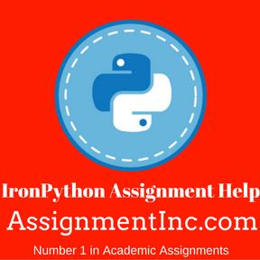 IronPython Assignment Help