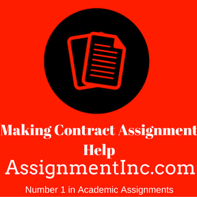 Making Contract Assignment Help