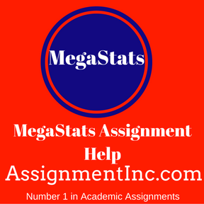 MegaStats Assignment Help