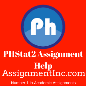 PHStat2 Assignment Help Simplifying Essential Aspects For My Assignment Help