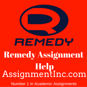 Remedy Assignment Help