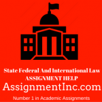 State Federal And International Law