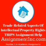 Trade-Related Aspects Of Intellectual Property Rights TRIPS