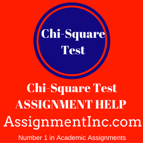 Chi-Square Test ASSIGNMENT HELP