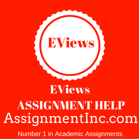 EViews ASSIGNMENT HELP