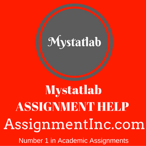 Mystatlab ASSIGNMENT HELP