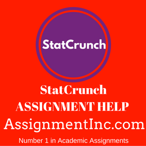 StatCrunch ASSIGNMENT HELP