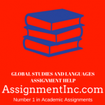Global Studies and Languages