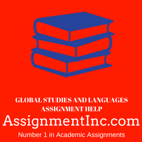 Global Studies and Languages ASSIGNMENT HELP