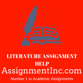 LITERATURE ASSIGNMENT HELP