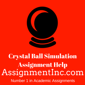 Crystal Ball Simulation Assignment Help