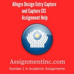 Allegro Design Entry Capture and Capture CIS