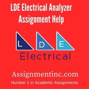 LDE Electrical Analyzer Assignment Help