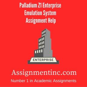 Palladium Z1 Enterprise Emulation System Assignment Help