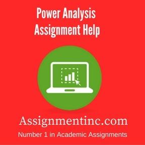 Power Analysis Assignment Help