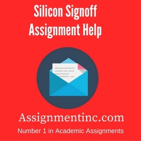 Silicon Signoff Assignment Help
