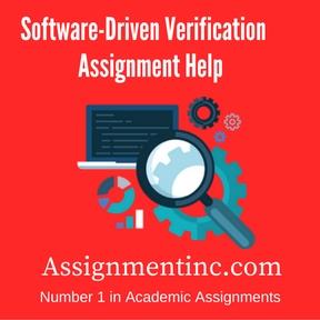 Software-Driven Verification Assignment Help