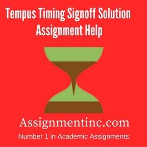 Tempus Timing Signoff Solution