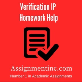 Verification IP Homework Help