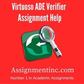 Virtuoso ADE Verifier Assignment Help