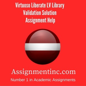 Virtuoso Liberate LV Library Validation Solution Assignment Help