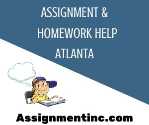 Assignment & Homework Help Atlanta
