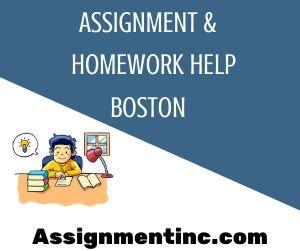 Assignment & Homework Help Boston