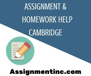 Assignment & Homework Help Cambridge