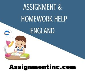 Assignment & Homework Help England