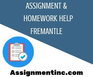 Assignment & Homework Help Fremantle