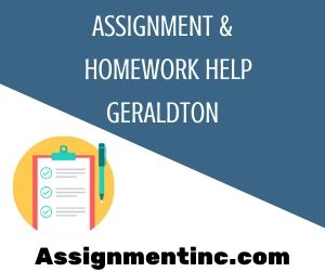 Assignment & Homework Help Geraldton