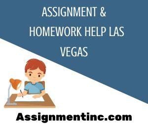 Assignment & Homework Help Las Vegas