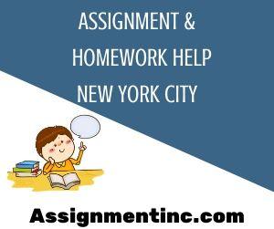Assignment & Homework Help New York City