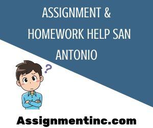 Assignment & Homework Help San Antonio