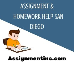 Assignment & Homework Help San Diego
