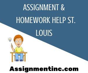 Assignment & Homework Help St Louis
